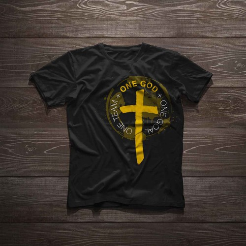 T-Shirt Design for Christian Soccer Team