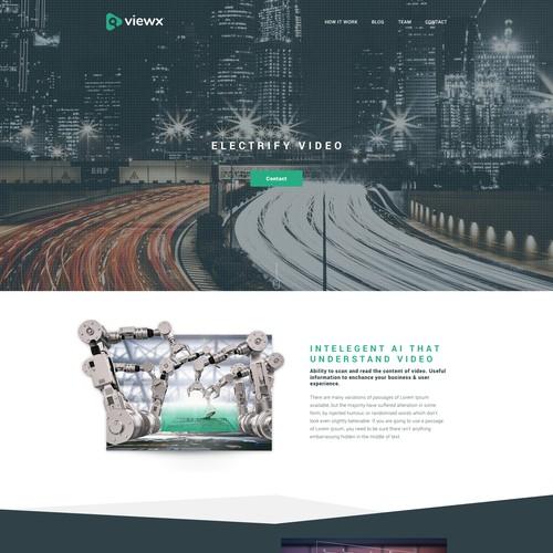 Tech Website Design