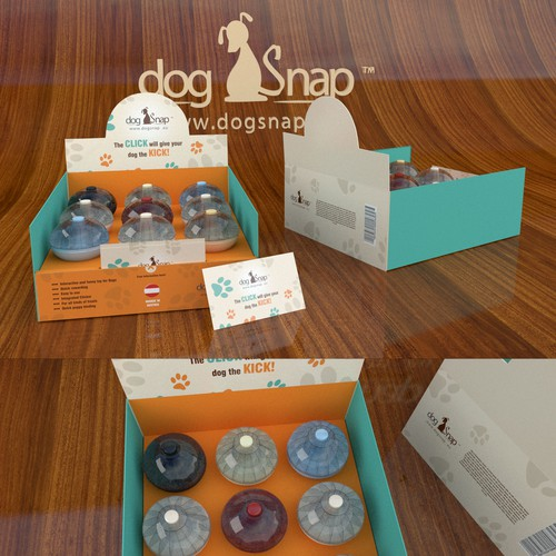 Fresh design for a box packaging / pet product