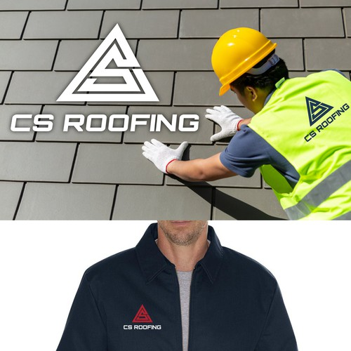 logo for cs roofing