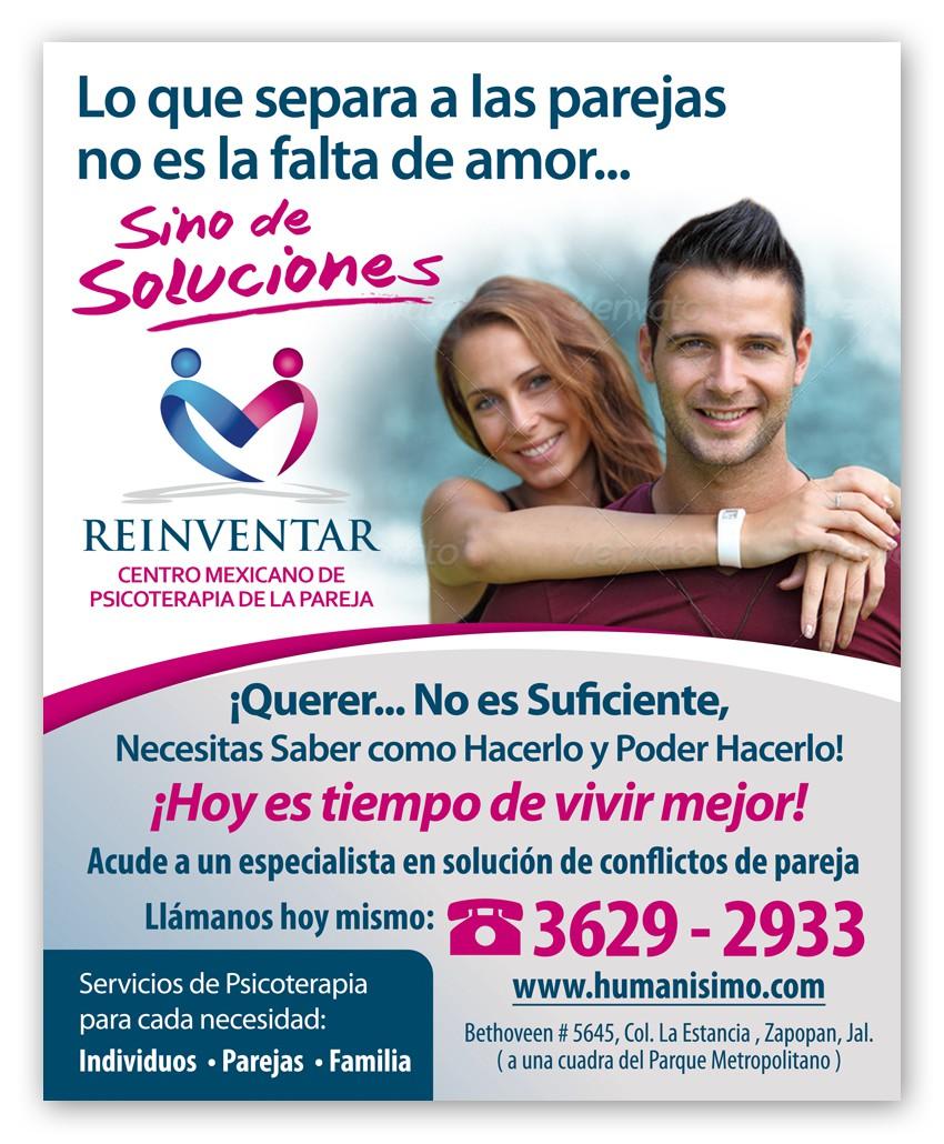banner ad for REIVENTAR    CENTRO MEXICANO DE PSICOTERAPIA DE LA PAREJA