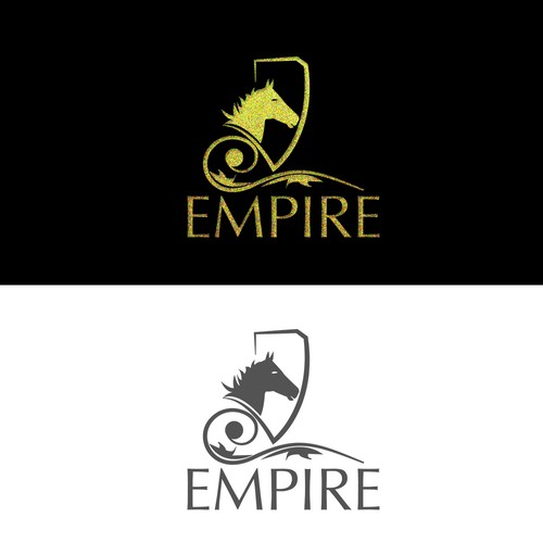luxurious logo concept for Empire
