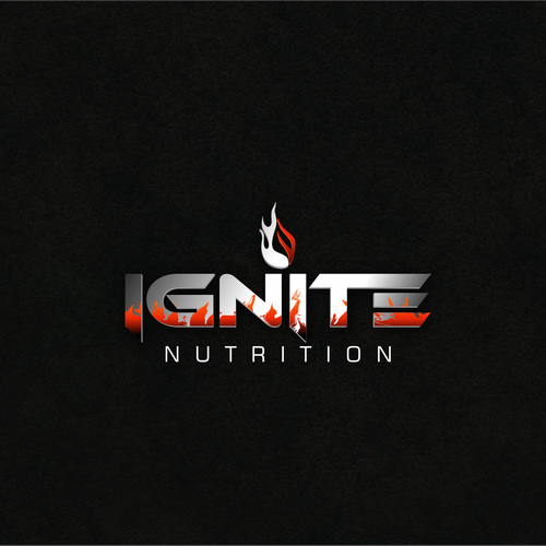 Modern concept for a nutrition supplement company