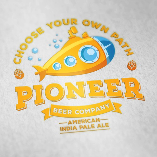 Logo Project | Pioneer Brew Co.