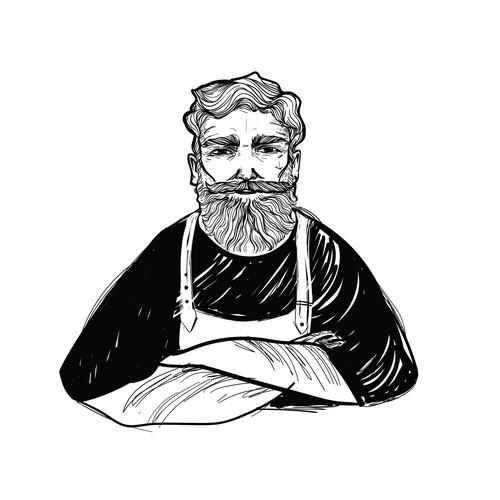 Charakterkopf  Sketch-Design