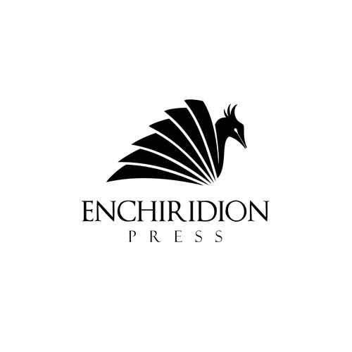 Create a phoenix logo for a publisher of Latin and Greek books