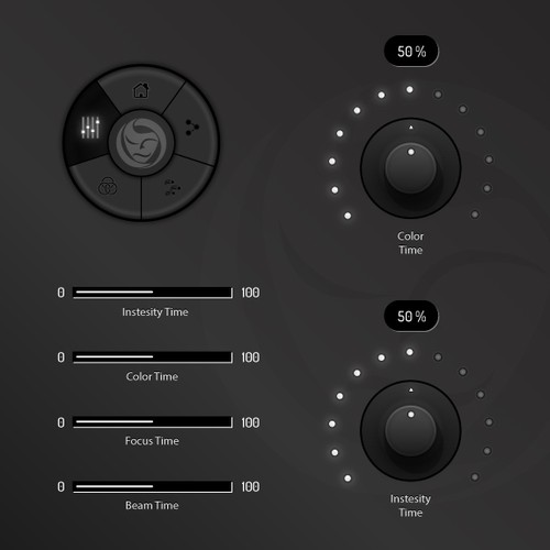 UI Design for Emerging DMX Lighting Control Software