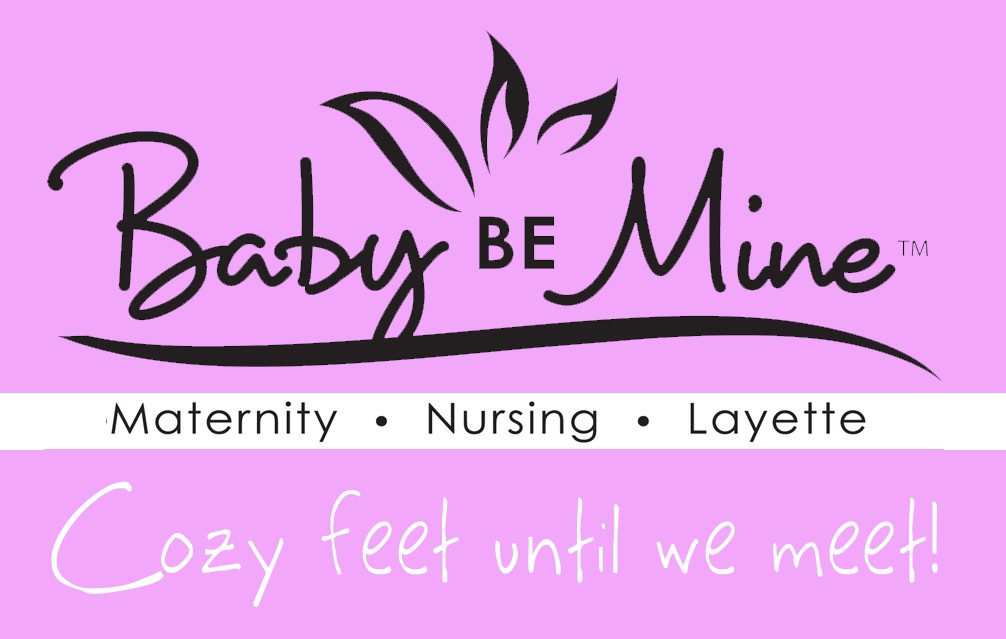 merchandise design for Baby Be Mine LLC