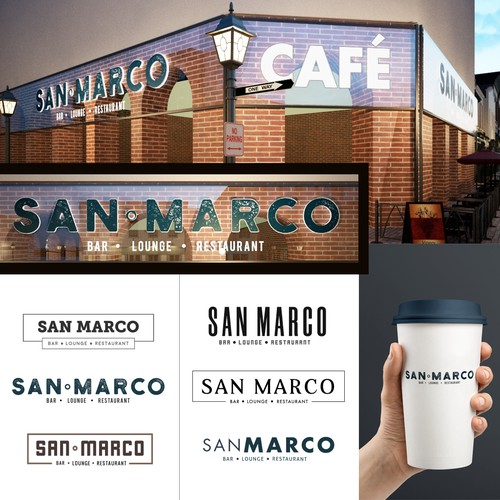 LOGO PROPOSAL FOR SAN MARCO CAFE