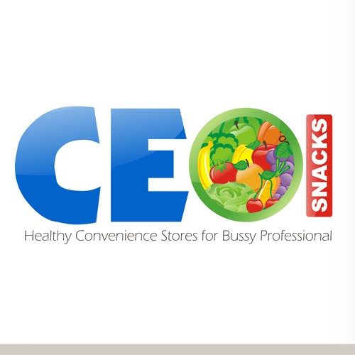 Help CEO Snacks with a new logo