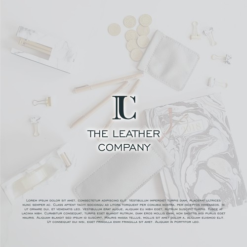 Logo concept for The Leather Company