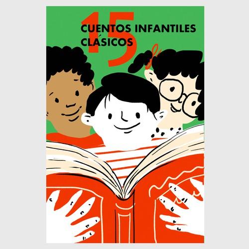 Concept cover design & illustration for children's book.