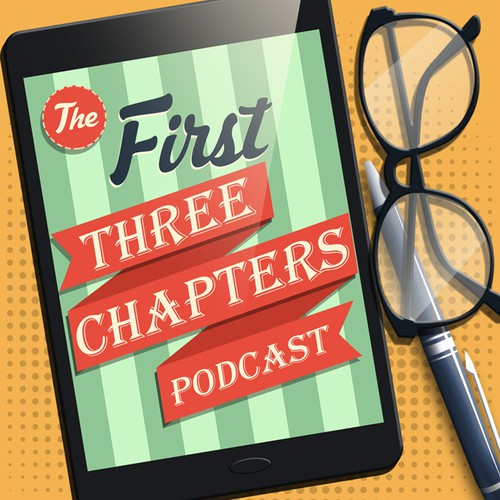 Create cover art for The First Three Chapters Podcast