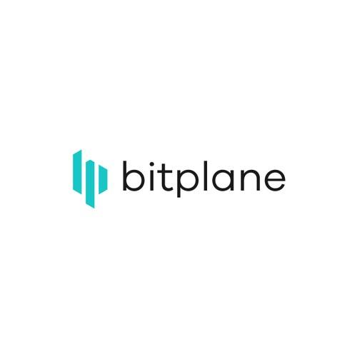Geometric logo for Bitplane