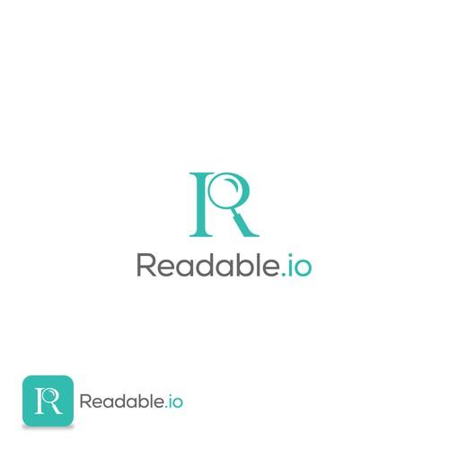 Readable logo