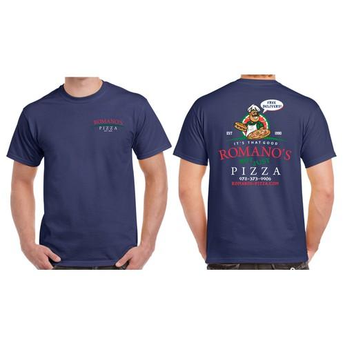 Romano's Pizza T-Shirt