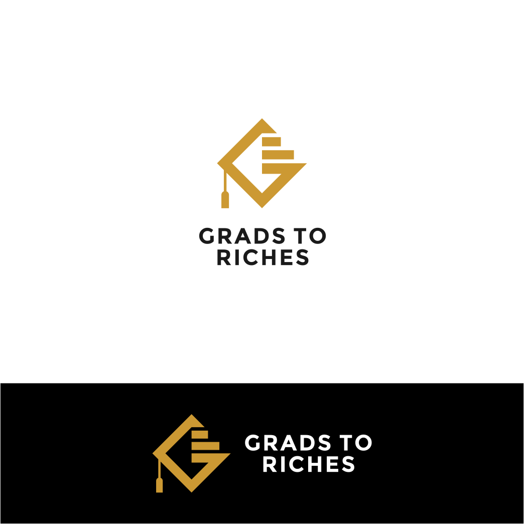 Logo design to combine the worlds of those with a life rich in meaning (and money) with that of the poor grad student