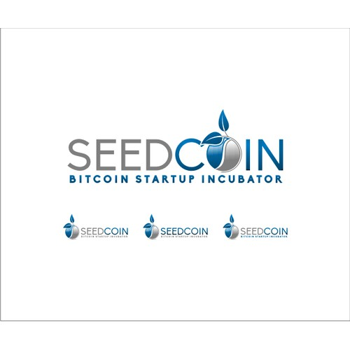 Design for Seedcoin: the Bitcoin Startup Incubator that helps seed stage companies grow