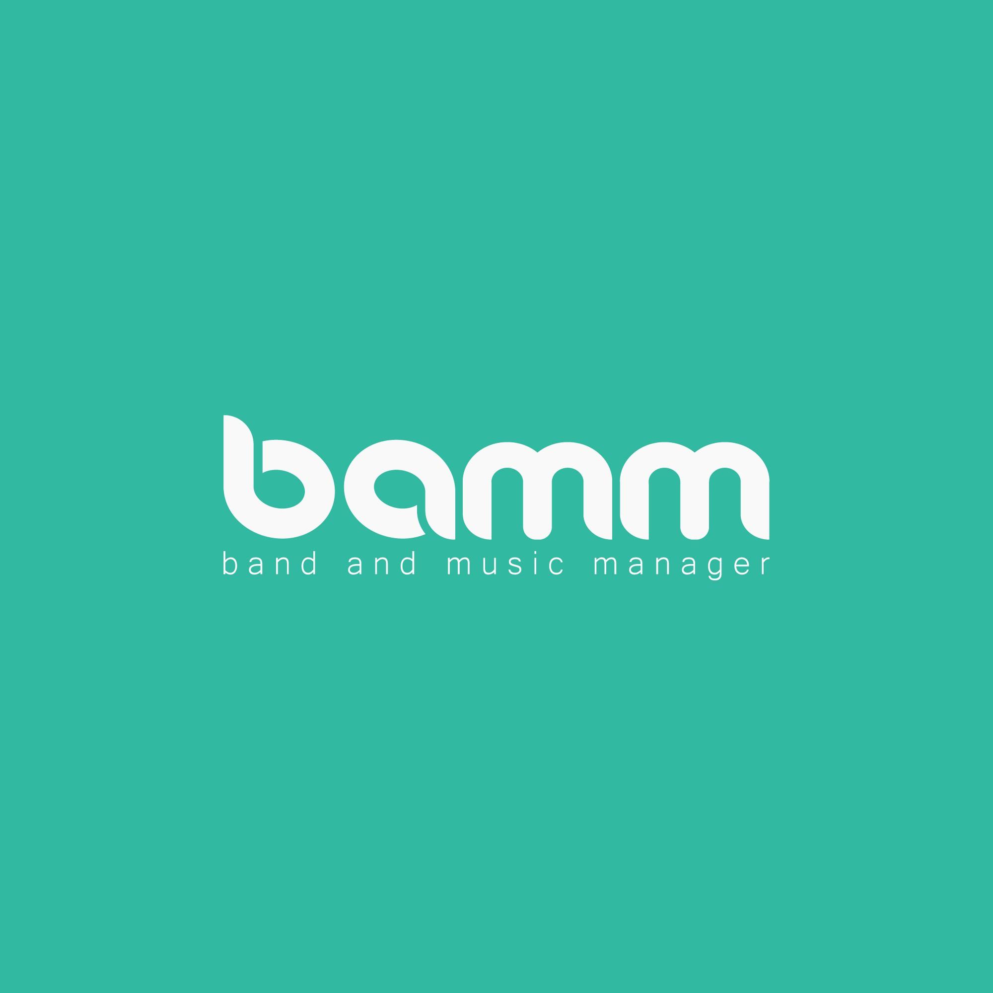 Logo for managing app for musicians