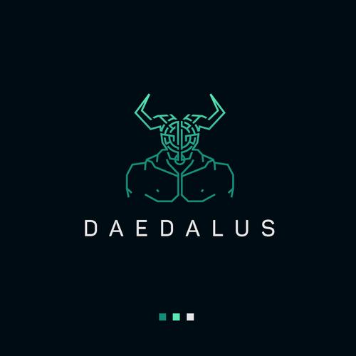 Daedalus logo design