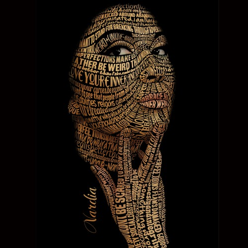 Typography Portrait