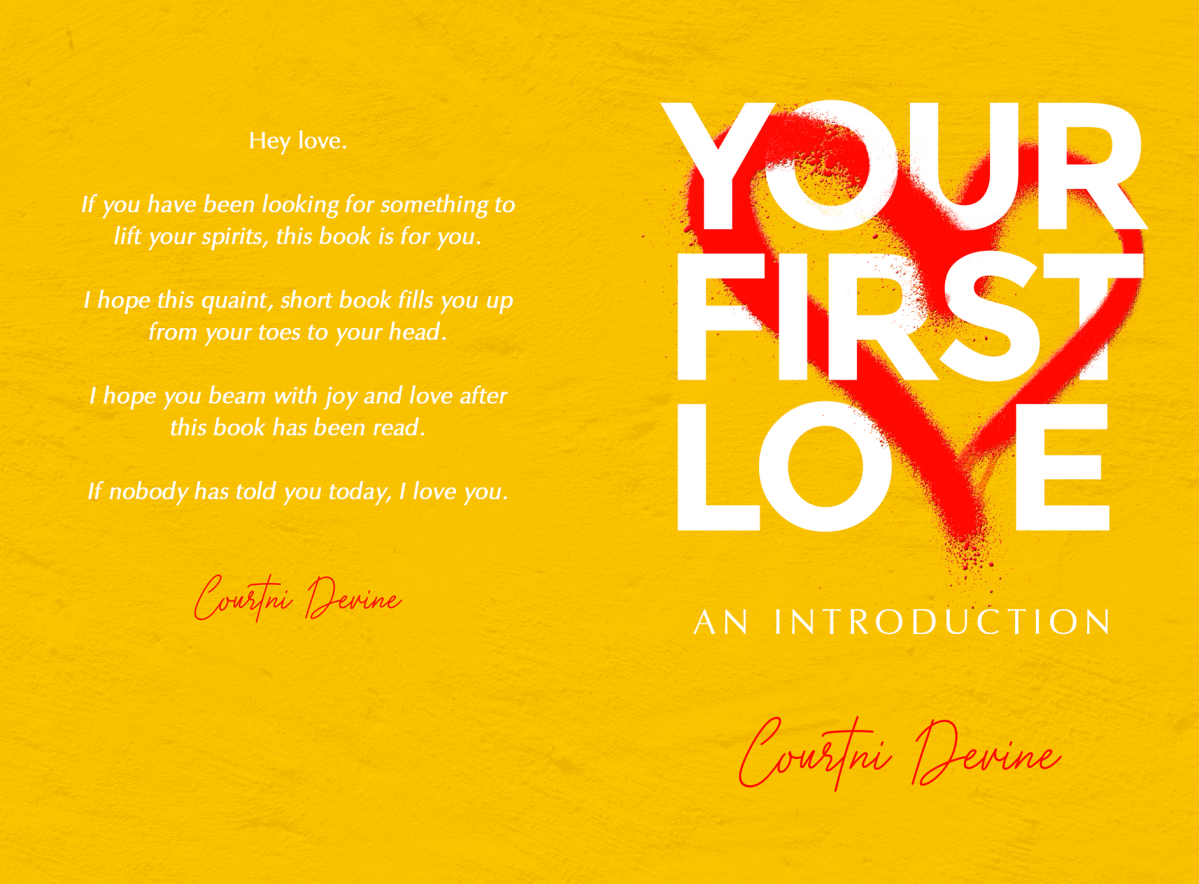 Poetry/Prose Book Your First Love