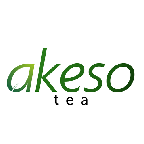 Natural feel logo for AKESO TEA