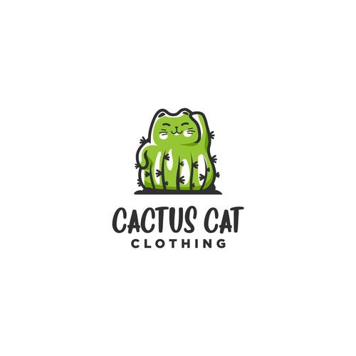 Cactus cat clothing