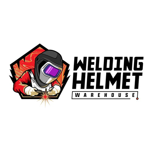Logo Welding Helmet -Warehouse-