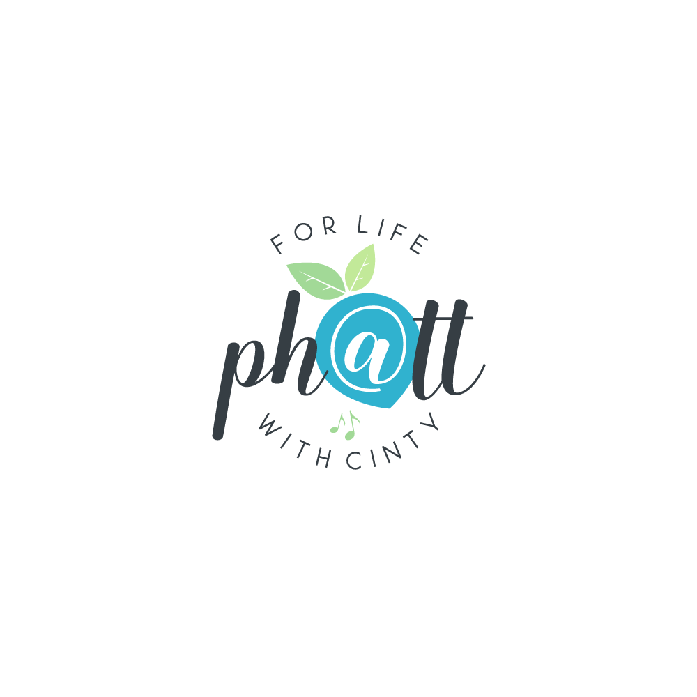Design a fresh raw powerful logo for PH@TT For Life With Cinty