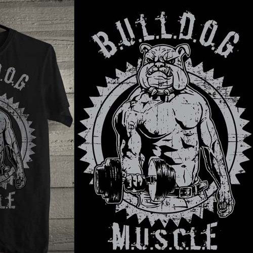 bulldog muscle