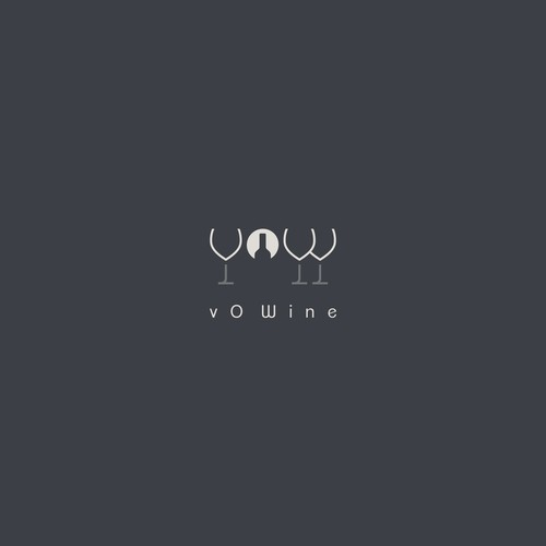 Clever logo concept for Wine Brands