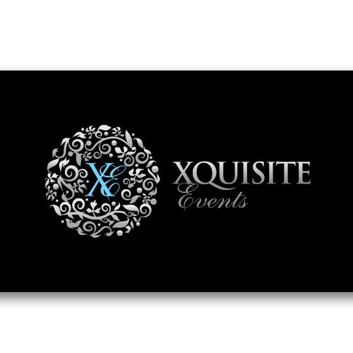 XQUISITE EVENTS needs a new logo and business card