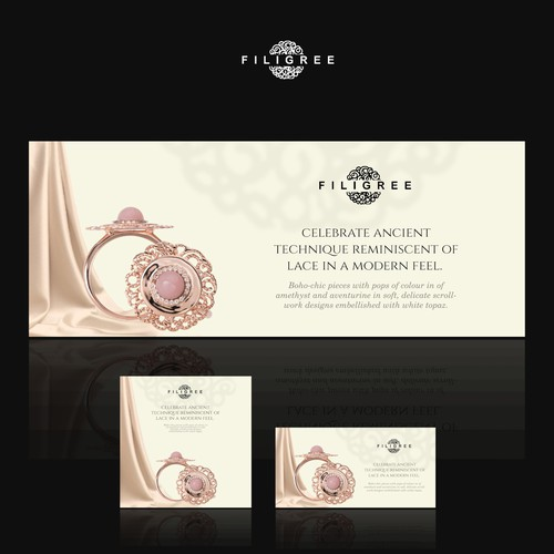 banner design for middle eastern jewelry shop