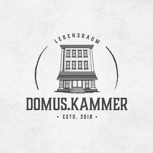 Logo concept for DOMUS KAMMER