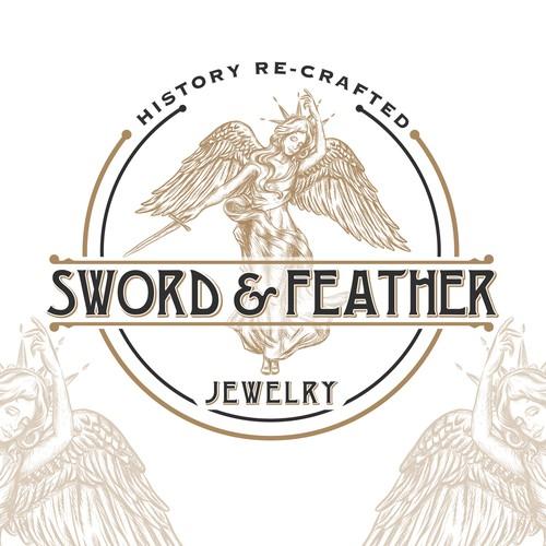 logo for vintage jewerly design