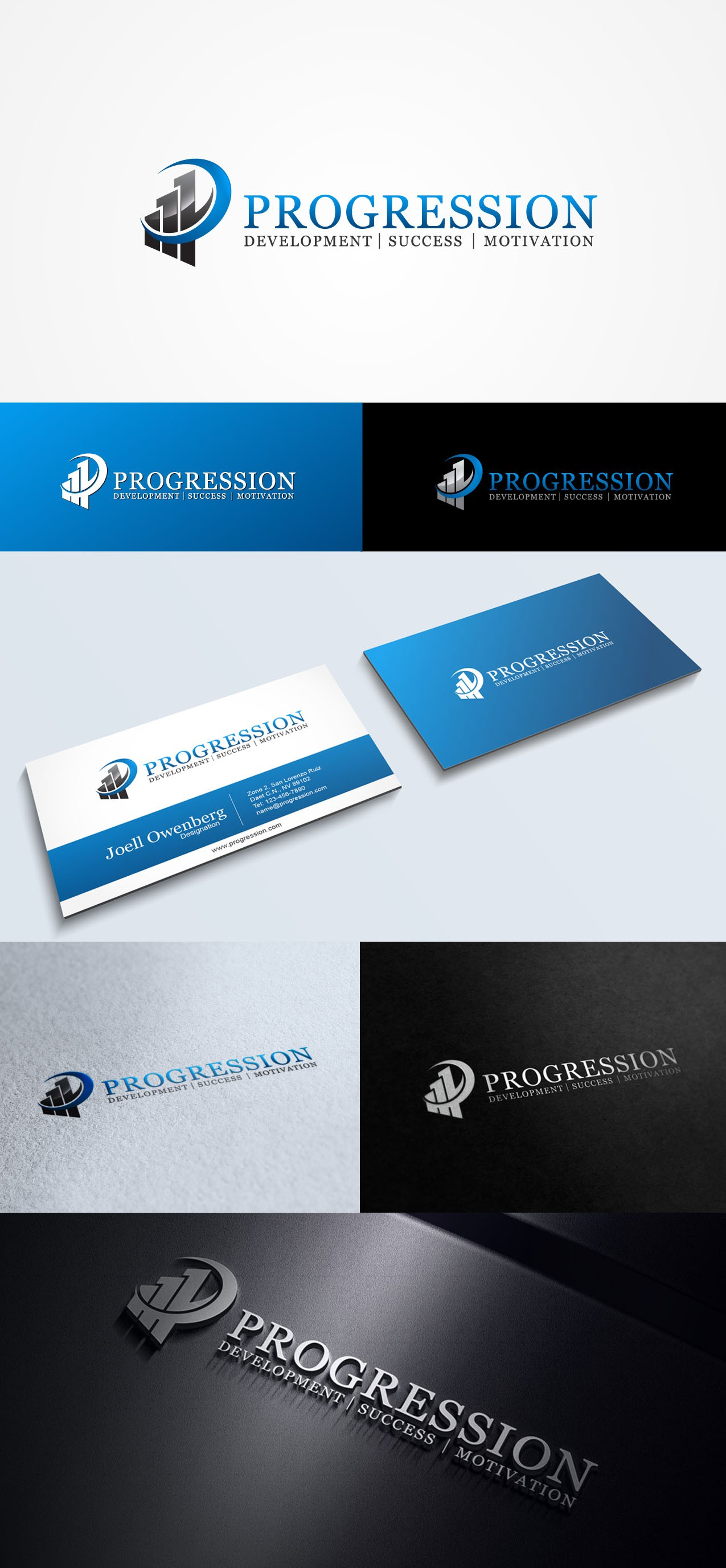 Create the next logo for Progression