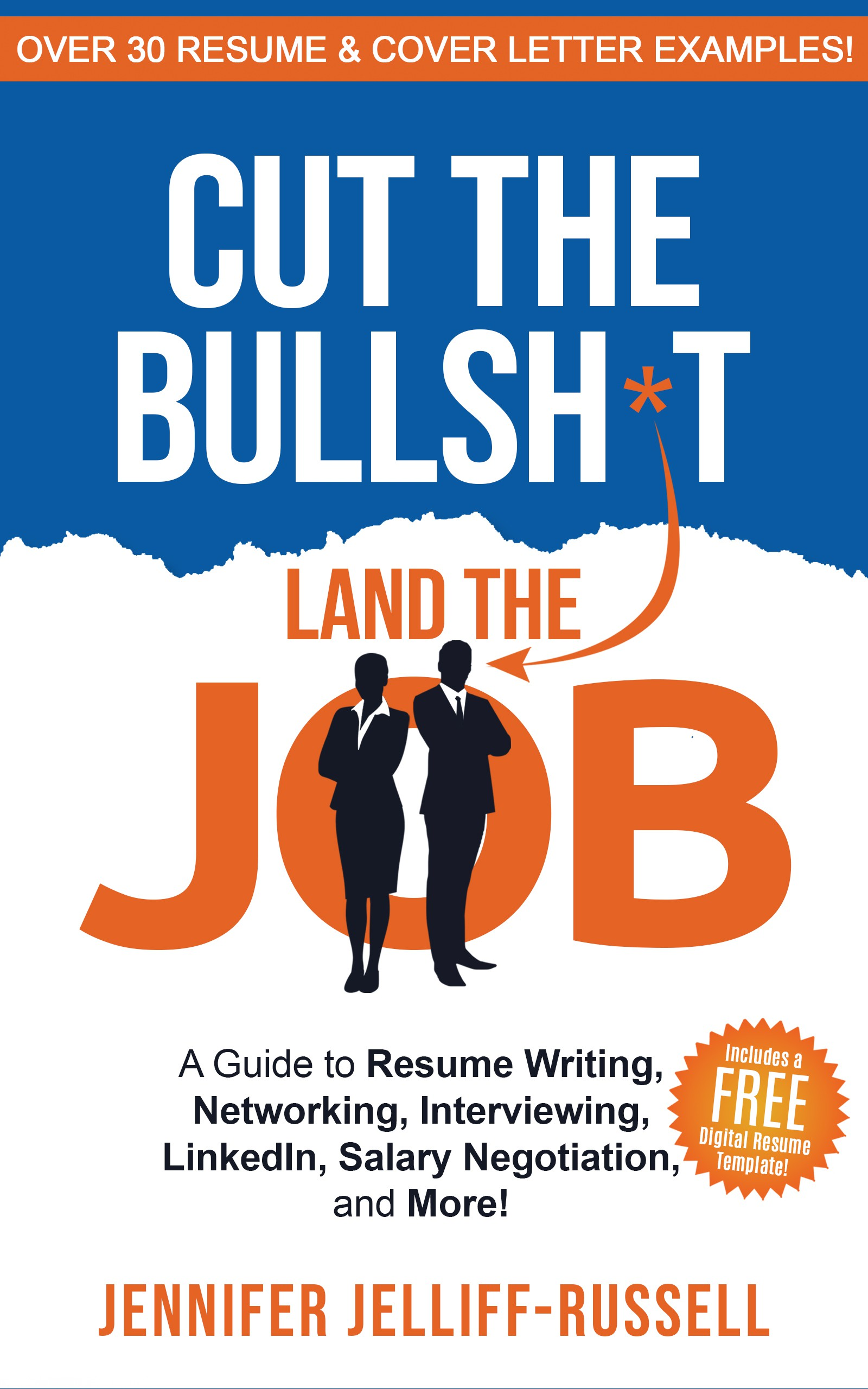 Book cover to capture job-seekers attention