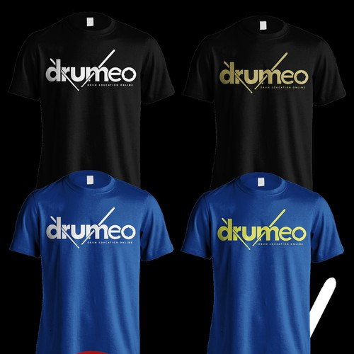 T shirt Design For DRUMEO