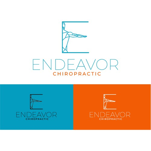 Modern Logo for Chiropractic Business