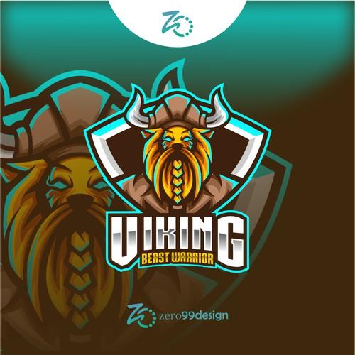 Viking Beast Gaming Esport Logo