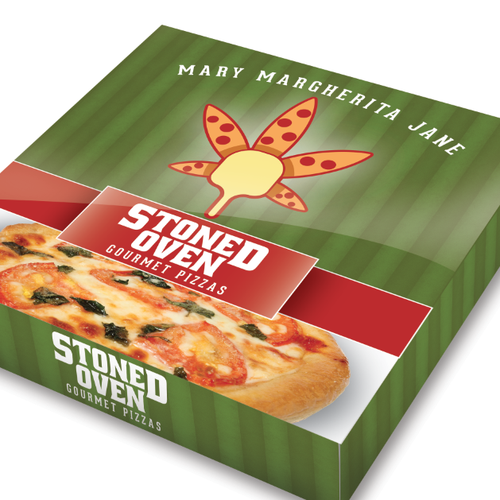 Medical Marijuana Pizza Packaging Design Contest