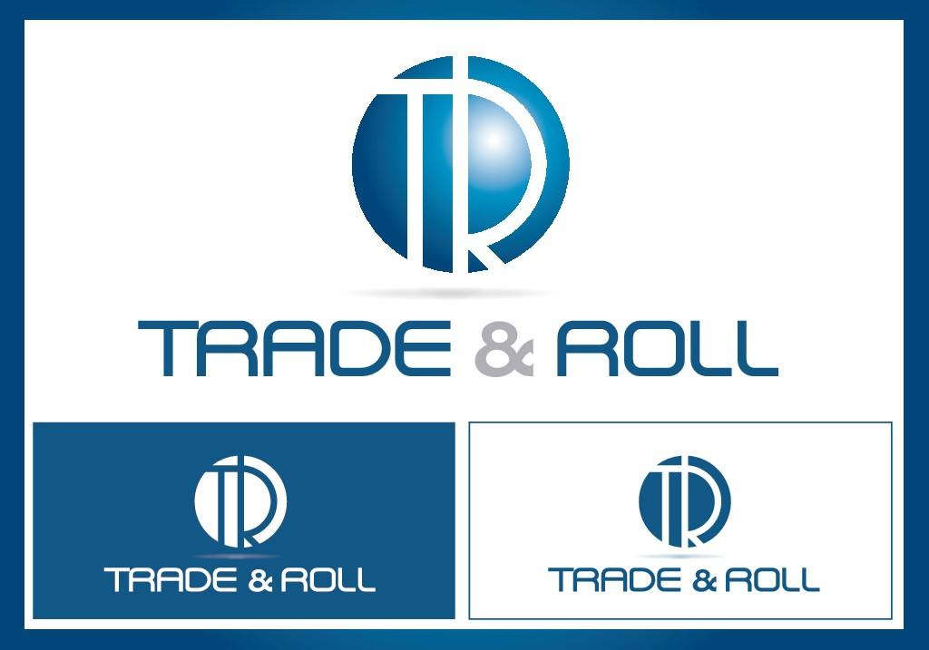 """Diseña un logo para """"Trade & Roll""""empresa dedicada a la especulación de los mercados financieros."""