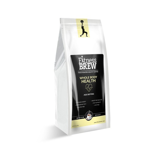Fitness Brew Packaging Design