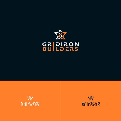 Logo for single family home builder