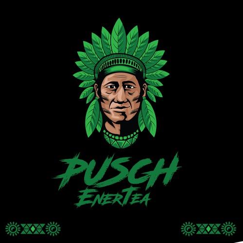 Pusch EnerTea logo
