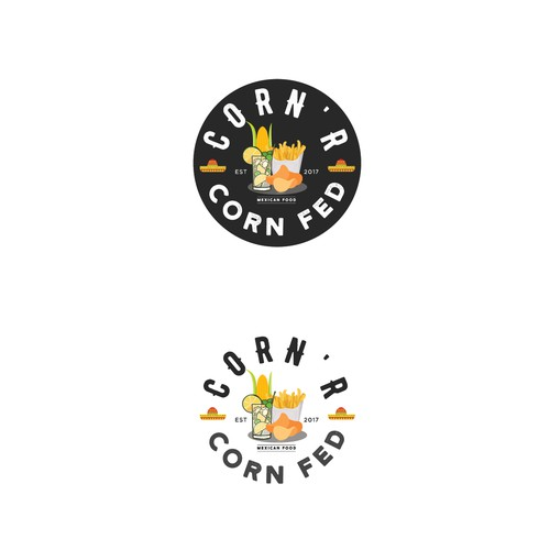 Corn's logo design