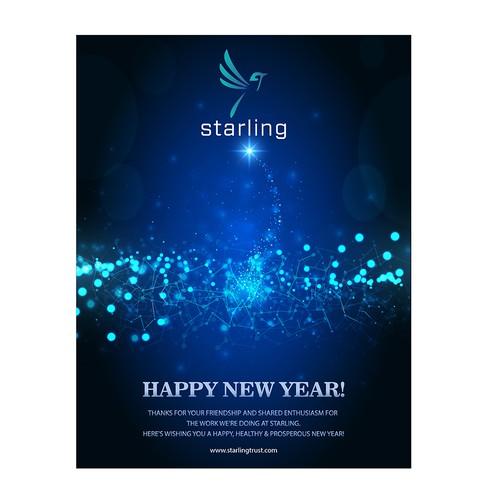 Starling 2018 holiday greeting