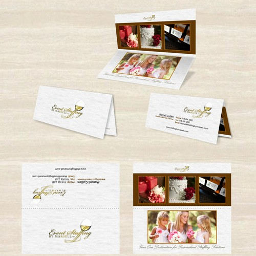business card for Event Staffing