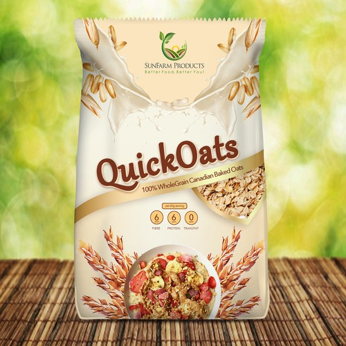 Oats Packaging